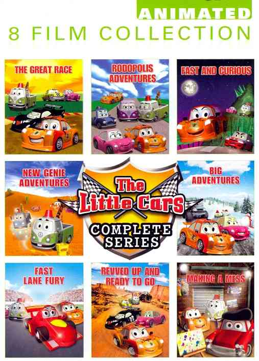 LITTLE CARS COMPLETE SERIES BY LITTLE CARS (DVD)